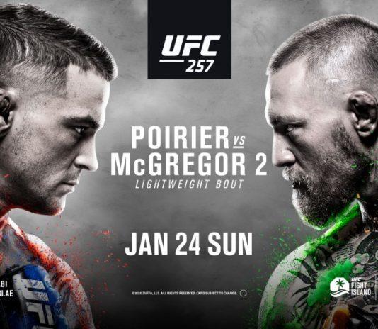 HOW TO WATCH UFC 257: POIRIER VS MCGREGOR 2