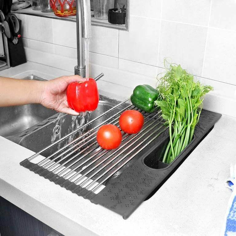 Multi Functional Over Sink Drying Rack