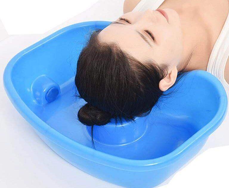 Portable Hair Washing Basin Bowl